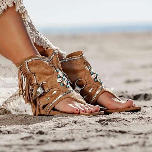 Stylish Suede Sandals