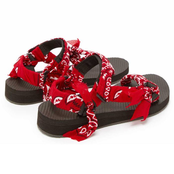 Women's  Pattern Open Toe Velcro  Sandals