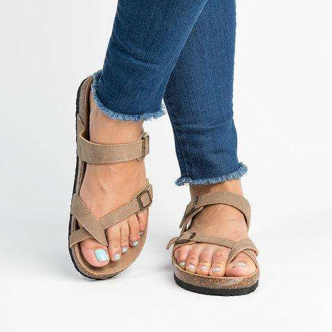 Women Pu Slippers Casual Daily Plus Sizes Shoes
