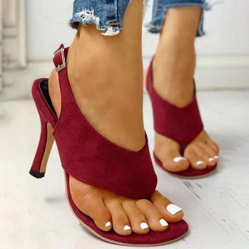 Women Thin Heeled Sandals