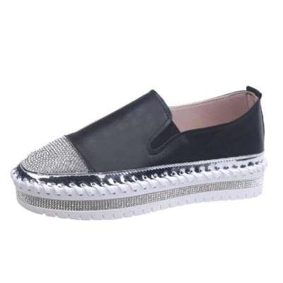 Women Casual Big Non-slip Rhinestones Sneakers
