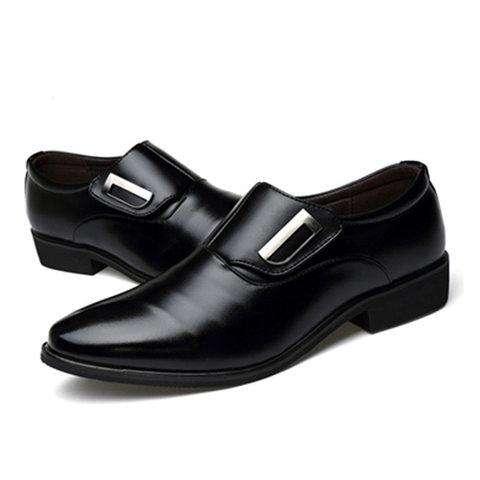 Men's Plus Size Magic Tape Formal Shoes