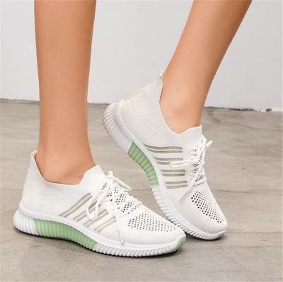Lace-up Decor Wide Fit Sneakers