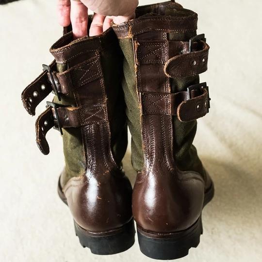 Original Design Leather Army Boots