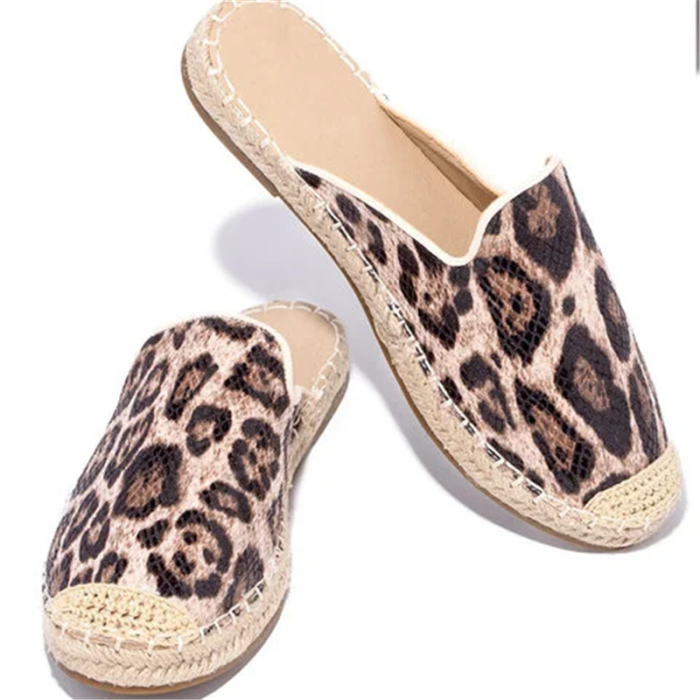 Artificial Leather Slippers