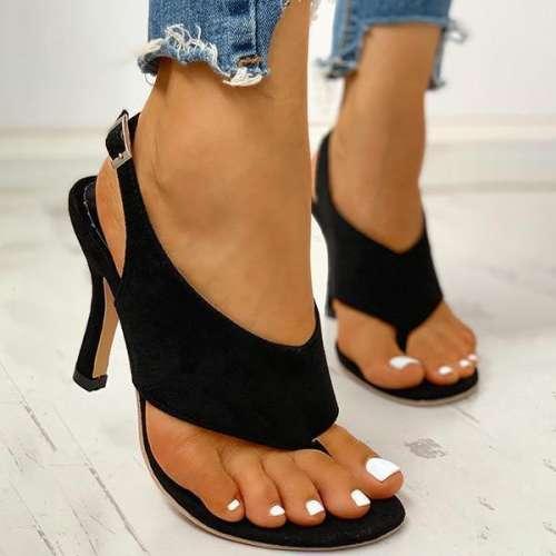 Women Thin Heeled Sandals