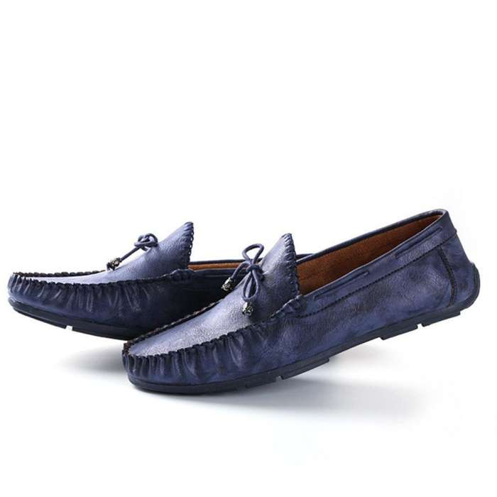 Men's Vintage Classic Moc ToeSoft Slip On CasuaL Loafers