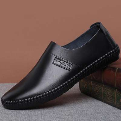 Men's  Pure Color Comfy Soft Sole Slip On Casual Loafers