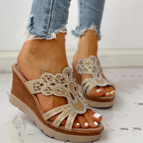 Platform Wedge Casual Sandals