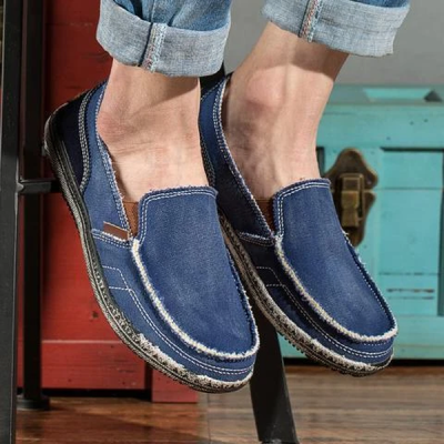 Breathable Canvas Lazy Shoes
