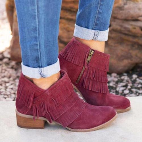 Women's Tassel All Season Boots