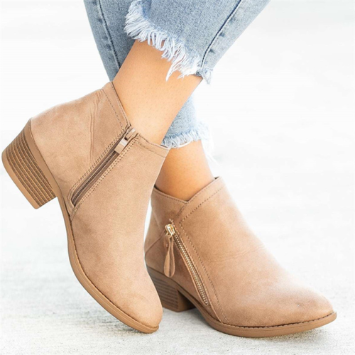 Women's Daily Low Heel Ankle Bootie
