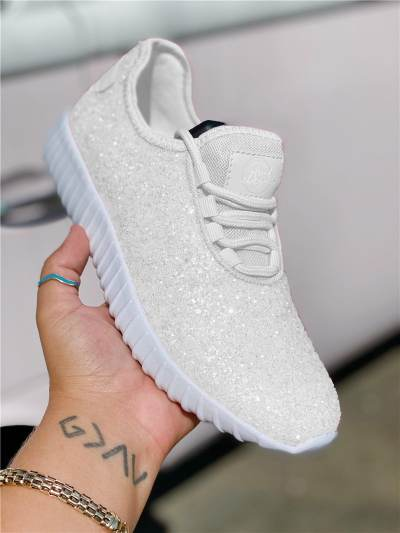 White Bottom Perfect Statement Sneakers