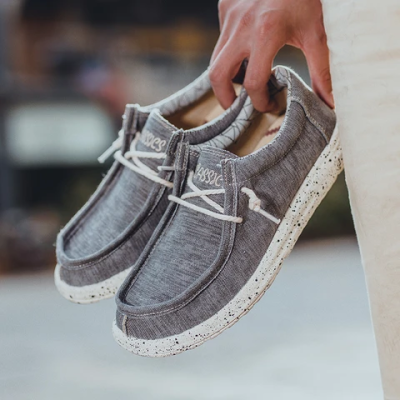 Men's summer trend canvas wild casual shoes
