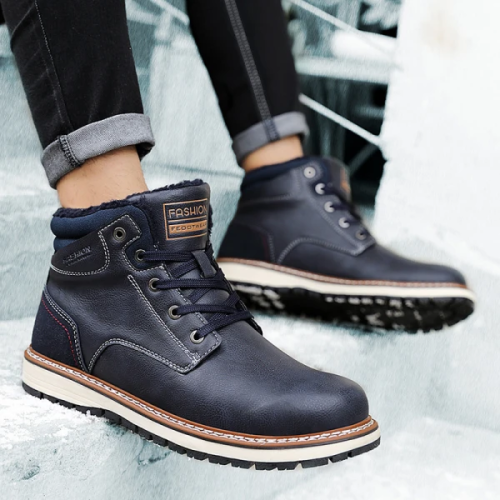 Men's Warm High Cotton Boots