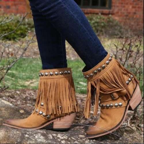 Liberty Black Nubuck Grease Miel Boots