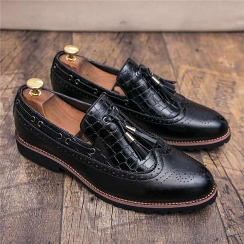 British Style Autumn Men Formal Penny Loafe Slip On Footwear