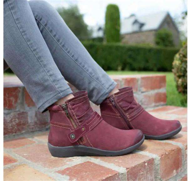 Round Toe Casual Women's Boots
