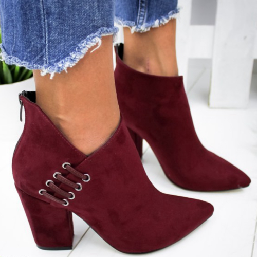 Women High Heel Europe Style Shoes Boots