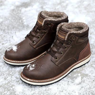Men's Warm High Cotton Boots