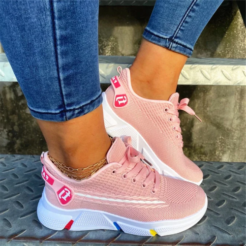 Flat Heel All Season Fabric sneakers