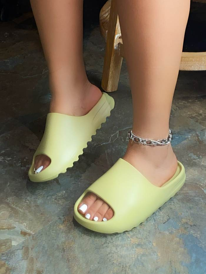 Women's Fish Mouth Serrated Sandals
