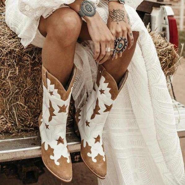 Med-Calf Slip On Boots