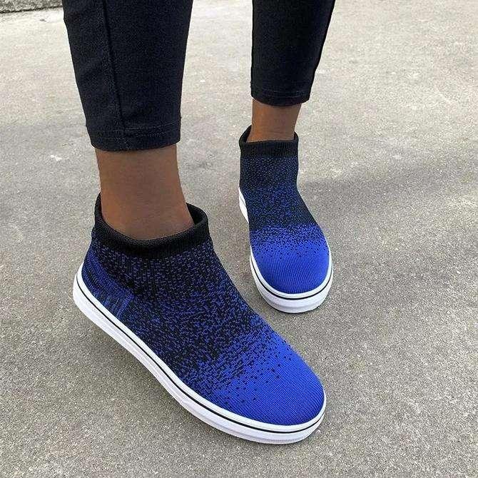 Flat Heel Sports Sneakers