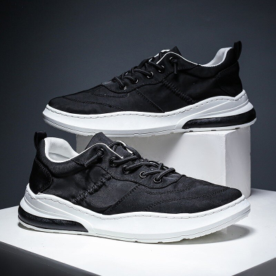 Men Breathable Umbrella Cloth Waterproof Lace Up Sport Casual Shoes