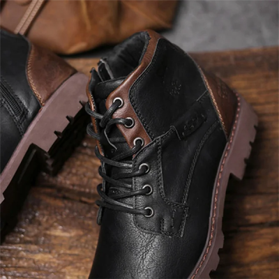 Men's Outdoor Casual Leather Shoes Martin Boots