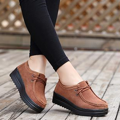 Platform Shoes With Thick Soles To Increase Casual Shoes