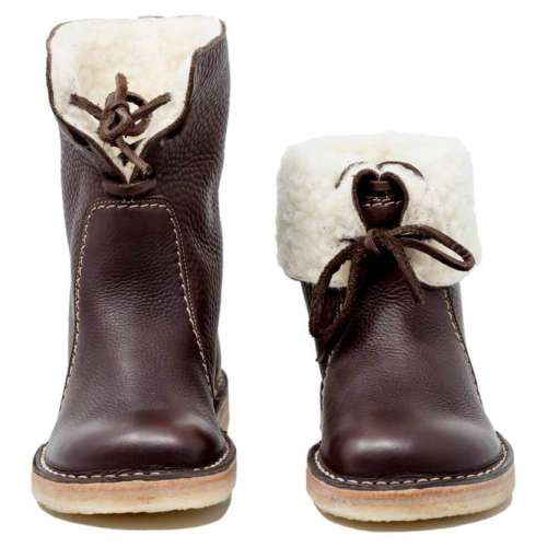 *Women Casual Vintage Boots Winter Snow Boots