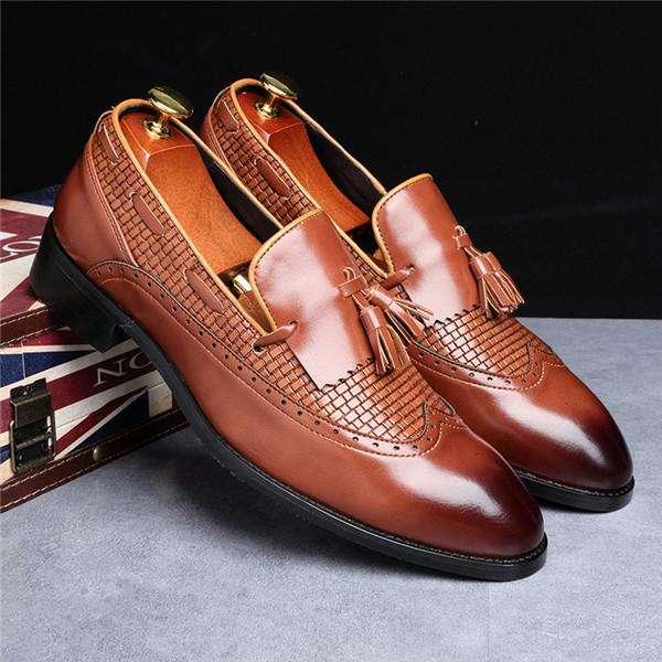 Italian Tassel Wedding Party Shoes