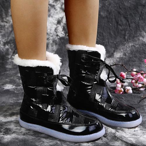 Mid Calf Winter Snow Boots