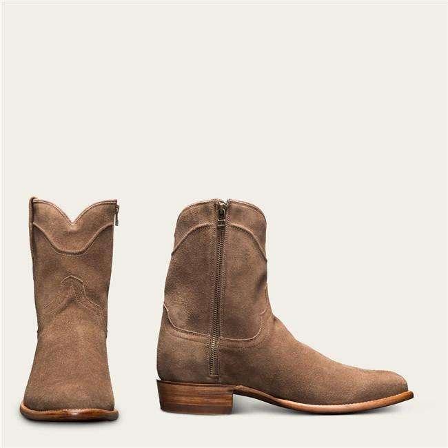 Men's Vintage Round Toe Suede Boots