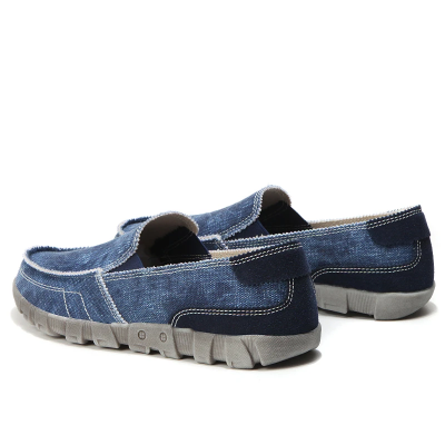 Men's Canvas Slip-On Loafers