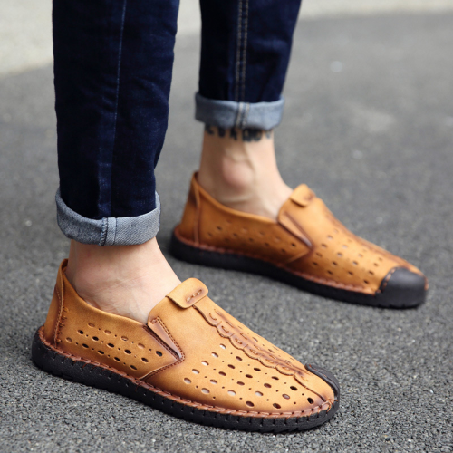 Low-Cut Upper Flat With Sports Round Toe Loafers