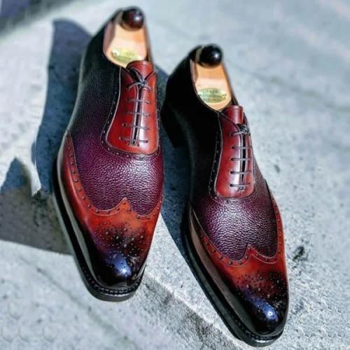 Men's Handmade Dress Shoes Oxford Shoes