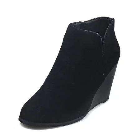 Wedge Heel All Season Platform Boots