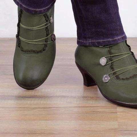 Women Comfy Heel Shoes