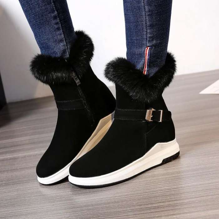 Women Fur Winter Snow Boots