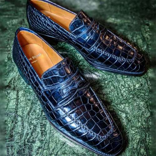 Crocodile Alligator Formal Shoes
