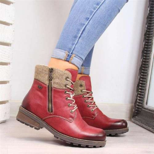 Winter Waterproof Casual Fashion Ankle Boots