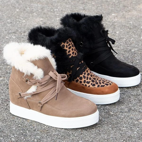 Women Winter Wedge Boots