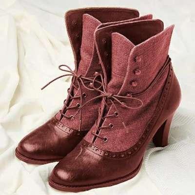 Women's Vintage Bohemian Booties