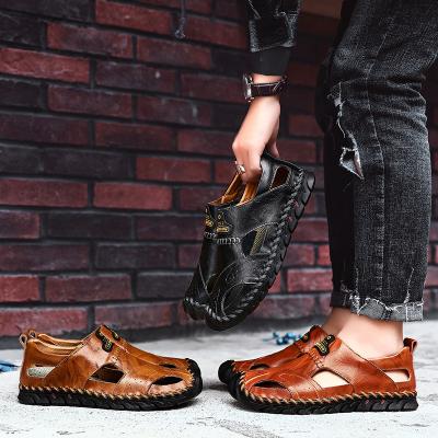 Hand Stitching Genuine leather Outdoor Sandals