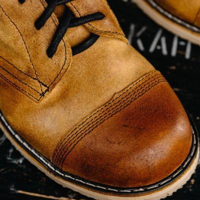 Men's Vintage Suede Leather Martin Boots