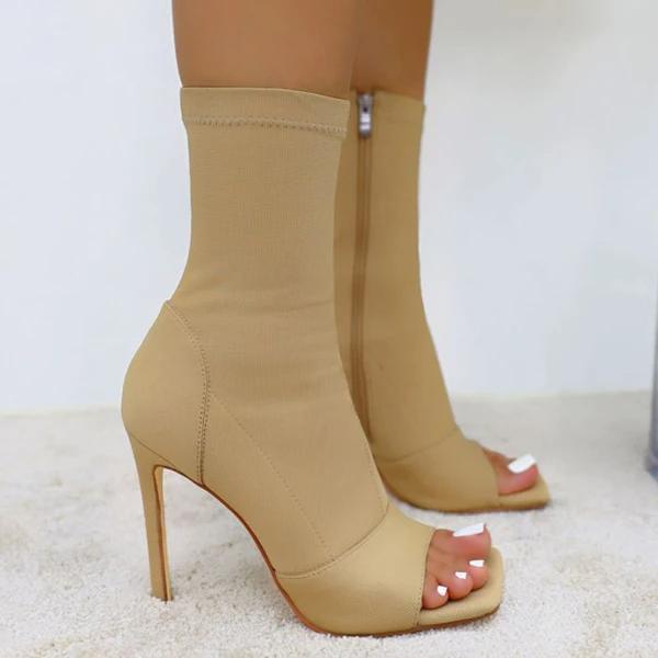 Women's Stylish Peep Toe Ankle Sandals