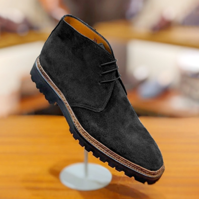 Handmade Leather Suede Boots
