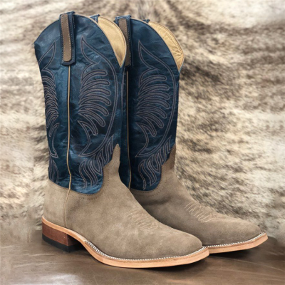 Mens Roughout Cowboy Boots